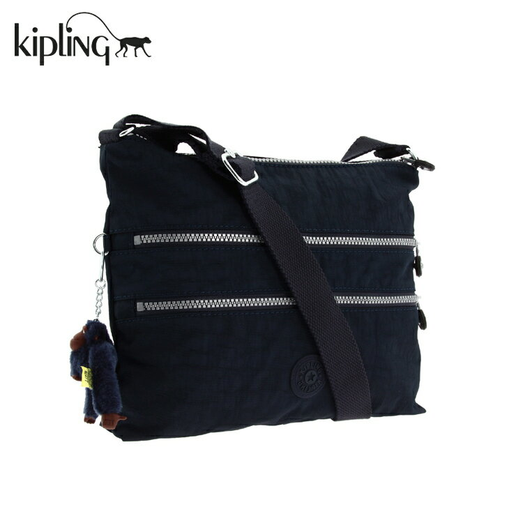 Kipling キプリング K13335 ALVAR ショルダーバッグ ネイビー