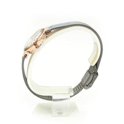 SKAGENスカーゲンSTEELスチールレディース腕時計26mmグレー×ローズゴールド456SRMスカーゲン腕時計レディース