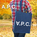 APC アーペーセー トートバッグ デニムトート INDIGO/デニムブルー F61283 apc バッグ A.P.C.
