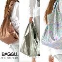 【メール便可】 BAGGU バグゥ メタリック エコバッグ Mサイズ 全3色 STANDARD BAGGU スタンダードバグー ショッピングバッグ レジバッ…