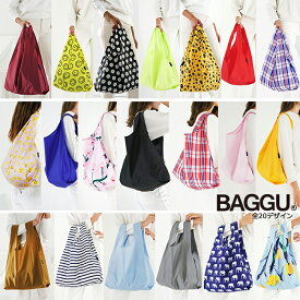 【メール便可】 BAGGU バグゥ エコバッグ Mサイズ 全17デザイン STANDARD BAGGU スタンダードバグー ショッピングバッグ レジバッグ
