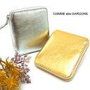 COMME des GARCONS コムデギャルソン ラウンドジップ 二つ折り財布 全2色 SA2100G GOLD LINE ラウンドファスナー二つ折り財布 コンパク…