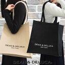 DEAN&DELUCA ディーン&デルーカ ニューヨーク限定 キャンバストートバッグ Mサイズ 全2色 エコトート 101739 101742