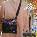 GREGORY グレゴリー サコッシュ CLASSIC SATCHEL M 全3色 BLACK/ブラック グレゴリー バッグ ショルダーバッグ ボディバッグ