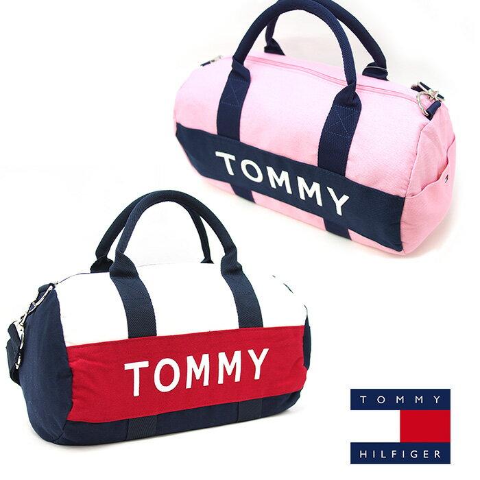 TOMMY HILFIGER トミーヒルフィガー ミニボストンバッグ 2wayショルダーバッグ 全2色
