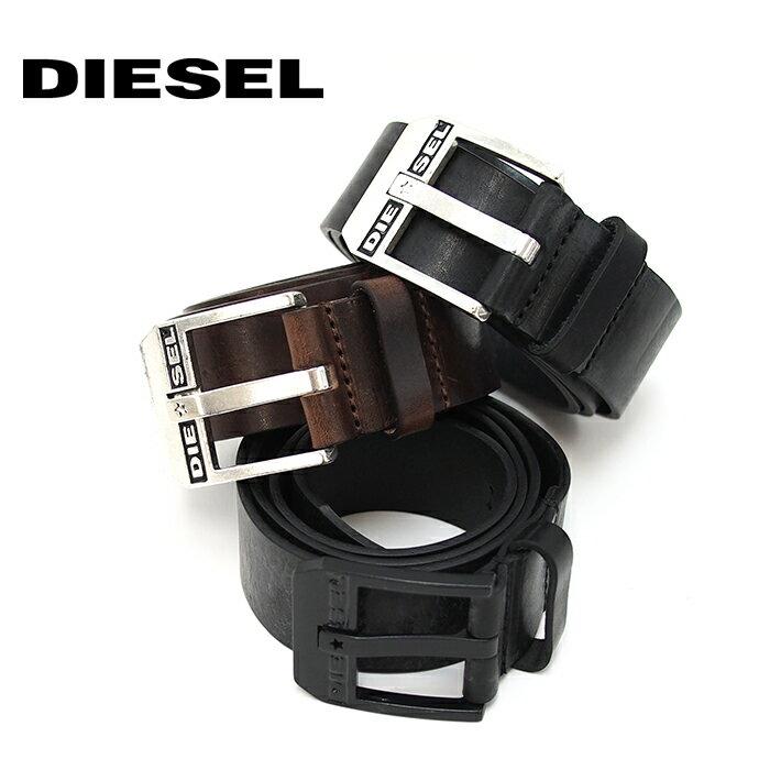 DIESEL ディーゼル レザーベルト ヴィンテージ加工 BLUESTAR X03728 PR227 全3色 ディーゼル ベルト