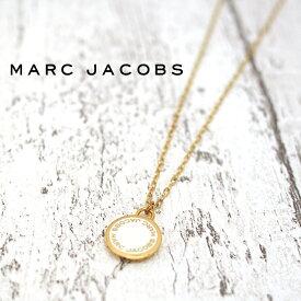 MARC JACOBS マークジェイコブス ネックレス ENAMEL DISC ゴールド×クリーム M0008546 106 マークバイマークジェイコブス ネックレス