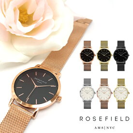 ROSEFIELD ローズフィールド 腕時計 ユニセックス マーサー THE MERCER 38mm 全6色 rosefield 腕時計
