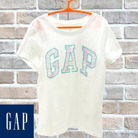 GAP Kids ギャップ キッズ 半袖Tシャツ ホワイト 110cm 120cm 130cm 160cm 子供服 子供用 キッズ ジュニア 女性用