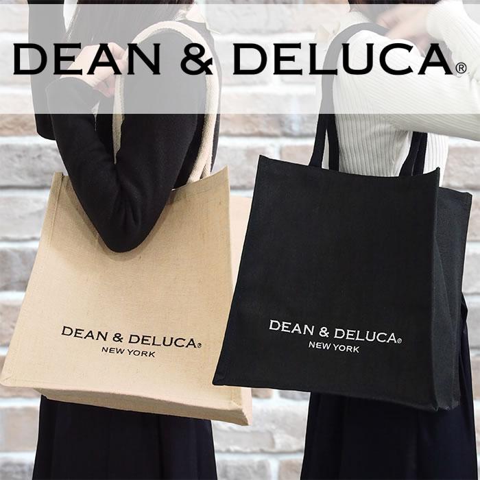 DEAN&DELUCA ディーン&デルーカ ニューヨーク限定 キャンバストートバッグ Mサイズ 全2色 エコトート ディーン&デルーカ トートバッグ 101739 101742
