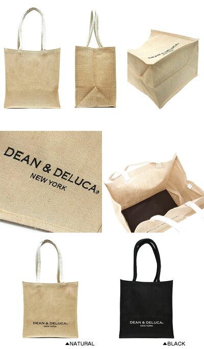 DEAN&DELUCAディーン&デルーカニューヨーク限定キャンバストートバッグMサイズ全2色エコトートディーン&デルーカトートバッグ101739101742