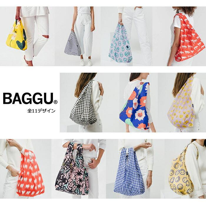 【メール便可】 BAGGU バグゥ エコバッグ Mサイズ 全11デザイン
