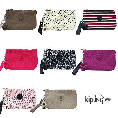 【メール便可】KiplingキプリングK15156CREATIVITYXLポーチマルチケース小物入れ小銭入れ全8色