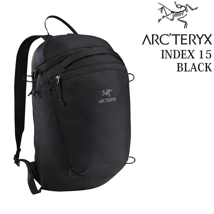ARC'TERYX アークテリクス INDEX 15 インデックス15 15L 18283 リュックサック バックパック BACKPACK ブラック アークテリクス リュック