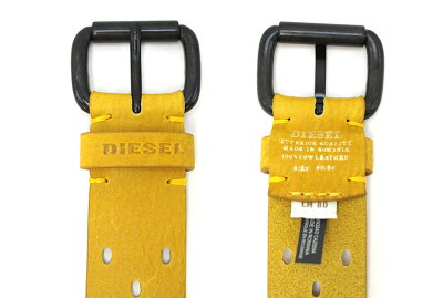 DIESELディーゼルヴィンテージ加工レザーベルトB-GROOVEBELTX03817PR317全3色ディーゼルベルト