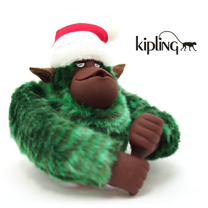 Kipling キプリング モンキー チャーム Monkey Program 30th ANNIVERSARY K28940 Xmass Green
