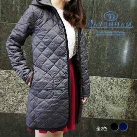 LAVENHAM ラベンハム レディース フーデッド キルティングコート BRUNDON ブランドン 全2色 ラベンハム キルティング コート