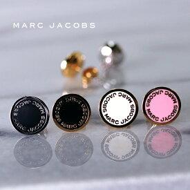 MARC JACOBS マークジェイコブス ピアス LOGO DISC ENAMEL STUDS 全3色 M0008544 マークバイマークジェイコブス ピアス
