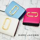 MARC JACOBS マークジェイコブス 二つ折り財布 ミニ財布 全3色 M0013360 SNAPSHOT スナップショット マークジェイコブス 財布