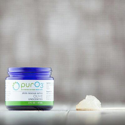 【日本未発売】PurO3Ozonatedオゾンクリーム(ピュアークリーム)Oliveオリーブ59mL