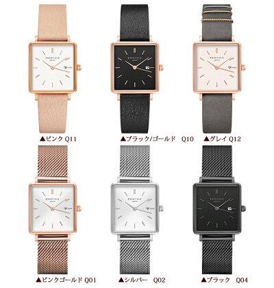ROSEFIELDローズフィールドレディース腕時計TheBoxy全6デザインローズフィールド腕時計