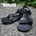 TEVA テバ レディース サンダル ORIGINAL UNIVERSAL オリジナル ユニバーサル ブラック テバ サンダル スポーツサンダル