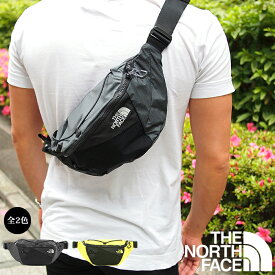 THE NORTH FACE ザノースフェイス ボディバッグ ウエストバッグ LUMBNICAL S ブラック×グレー ノースフェイス ボディバッグ T93S7ZMN8