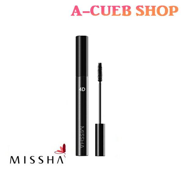 ミシャ ザ・スタイル 4D マスカラ 7g カラー:ブラック【韓国コスメ】【MISSHA】◆メール便送料無料◆【ギフト プレゼント 2019】
