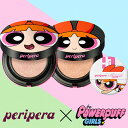 【メール便送料無料】【peripera CLIO】パワーパフガールズ インクラスティング ピンクッション ファンデ【限定品】【…