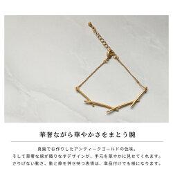 ブレスレットレディース『オプティルリルトブレスレット』ゴールド華奢おしゃれブラス真鍮シンプル一連きれいめカジュアル日本製大人金属製セレブパーティーシックモード『予約受付中』