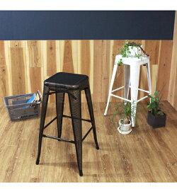 北欧ハイスツール椅子『スタッキングメッシュハイスツール』収納スチール四角おしゃれカフェバーカウンタースツール金属製76cmパンチングスタッキングスツール白ホワイト黒インテリア玄関飲食店『予約受付中』