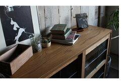 cadealslideglasslowboard1200カデルスライドガラスローボード1200食器棚にも、書棚にもできるシンプルなキャビネット