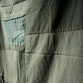 BasShuThrow/カーテン パッチワーク 100×135