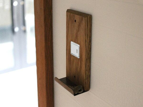 ウッド アイアントレイ スイッチプレート 1口 wood iron tray switch plate 1口 スイッチの周りもおしゃれにする木製スイッチカバー