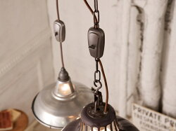 ヴィンテージケーブルアジャスターヴィンテージやインダストリアル系の照明と組合わせたい、コードアジャスター