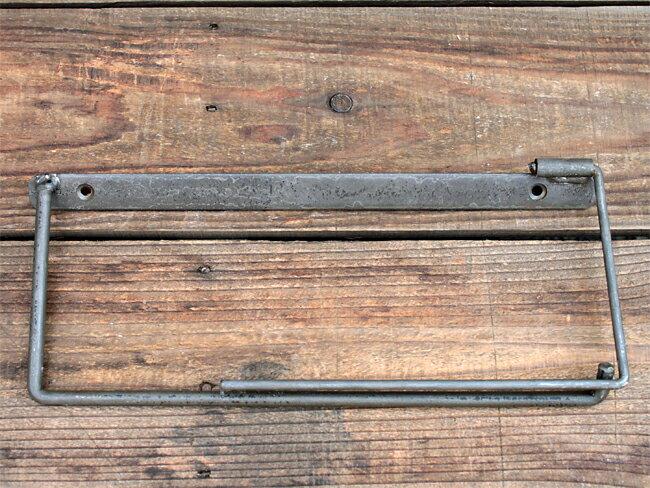 iron paper holder(L) アイアン ペーパーホルダー(L) クリア アイアンのちょっと変わったペーパーホルダー