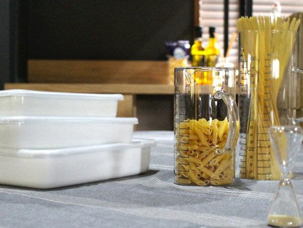ガラスウェア メジャーカップ S 3つの目盛りのかわいいカップ