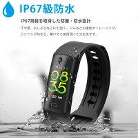 スマートウォッチAndroid対応iPhone対応防水日本語着信LINE通知レディースメンズ