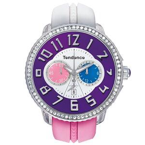 TendenceTG460405クレイジークリスタルテンデンス腕時計クロノグラフ
