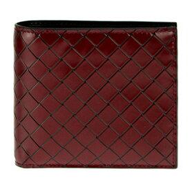 BOTTEGA VENETA193642-VAEU1-8877ボッテガヴェネタ 二折財布ダークレット