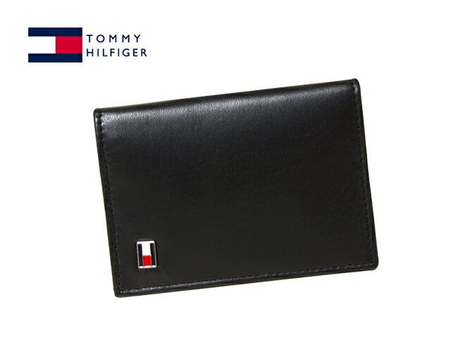 TOMMY HILFIGER 96-4512(31TL20X011-001)トミーヒルフィガー 名刺入れブラック