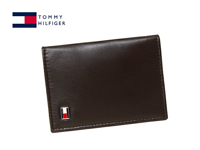 TOMMY HILFIGER 96-4512トミーヒルフィガー名刺入れブラウン