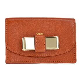 Chloe 3P0550-015-153クロエ カードケースブラウン