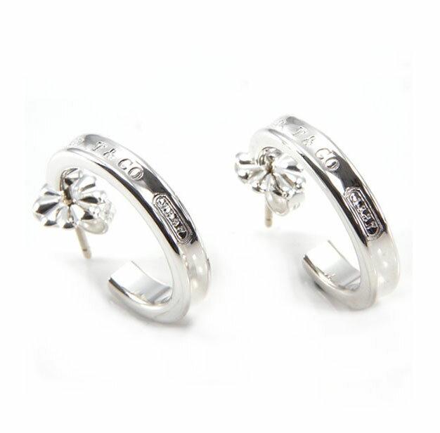 Tiffany&Co. 252257321837 ナロー フープピアス ティファニー アクセサリー シルバー925 ピアス