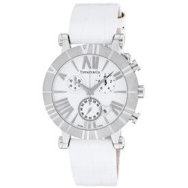 Tiffany Z1301.32.11A20A71Aティファニー Atlas Chrono レディース腕時計ホワイト×シルバー