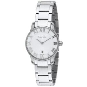 TiffanyZ1830.11.10A21A00AティファニーAtlasDomeレディース腕時計シルバー