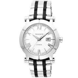 TiffanyZ1000.70.12A21A00AティファニーAtlasGentメンズ腕時計ブラック×シルバー