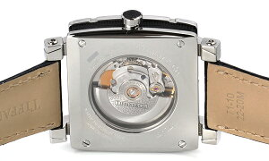 TiffanyZ1100.70.12A10A71AティファニーAtlasGentSquareメンズ腕時計ブラック×シルバー