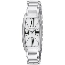 Tiffany Z6401.10.10A20A00Aティファニー Gemea レディース腕時計シルバー×ホワイト