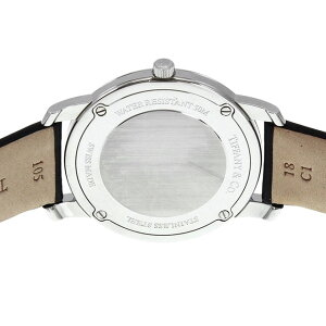 TiffanyZ0046.17.10B90A40AティファニーMarkユニセックス腕時計ブラック×シルバー